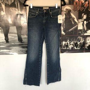 free people brand new dark denim jeans